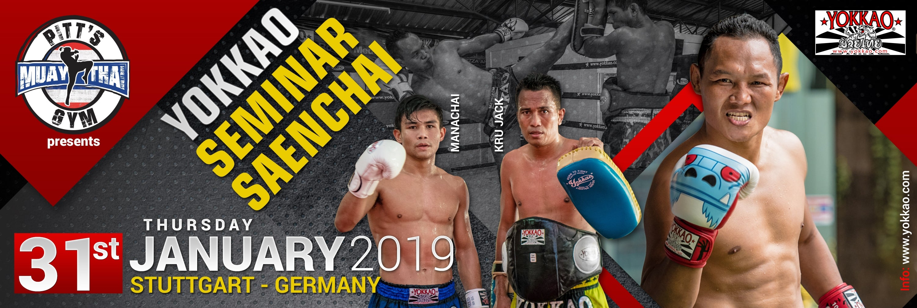Yokkao Seminar With Saenchai In Germany