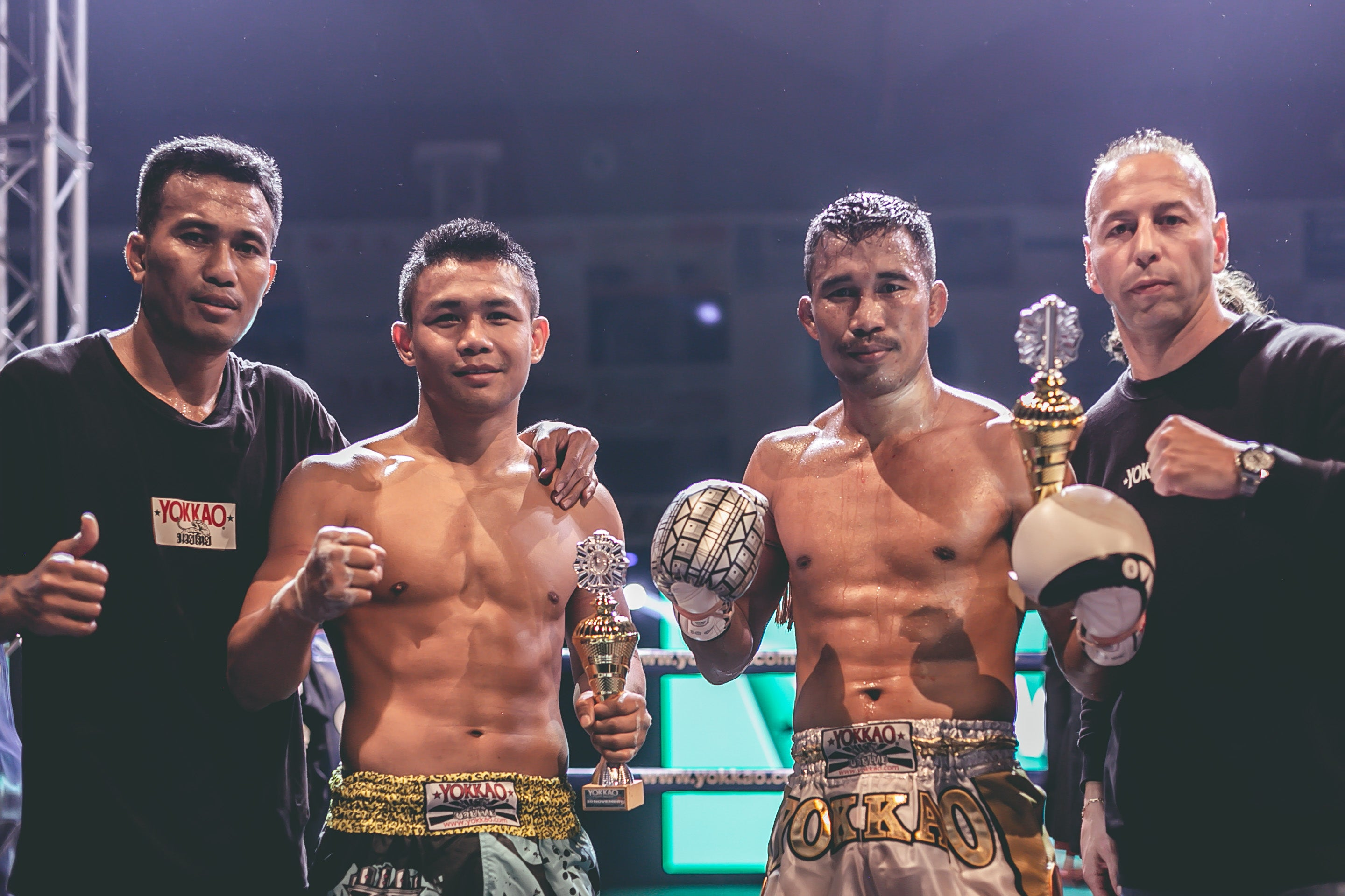 Singdam & Manachai Double Victory at YOKKAO Fight Night