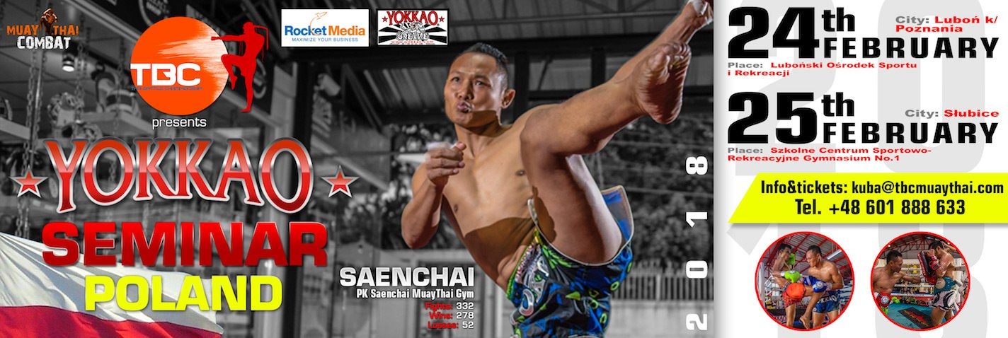 YOKKAO SEMINAR WITH SAENCHAI IN POLAND