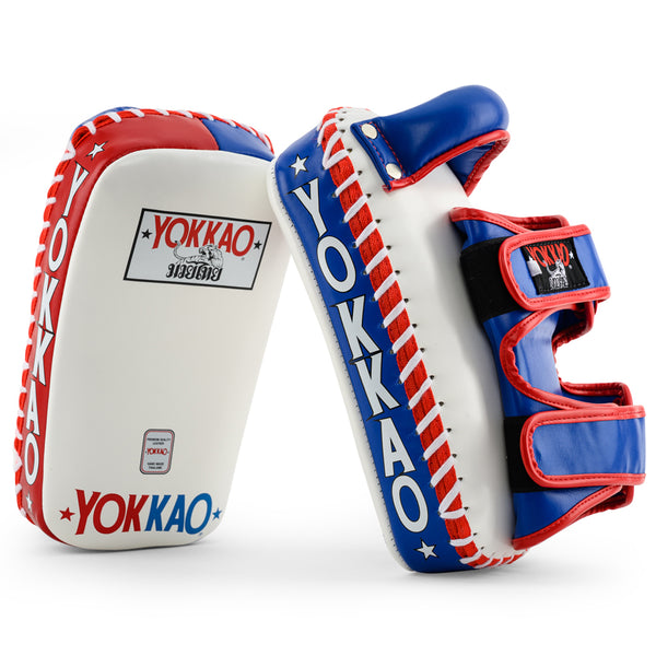 YOKKAO Curved Kicking Pads Thai Flag - YOKKAO