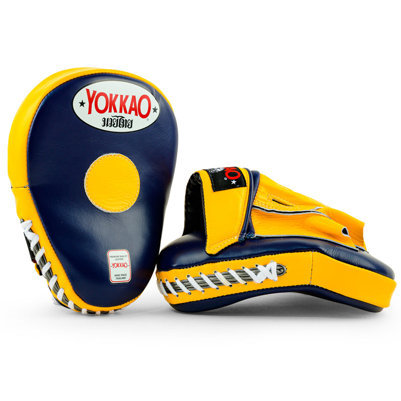 Focus Mitts Evening Blue/Gold Fusion - YOKKAO