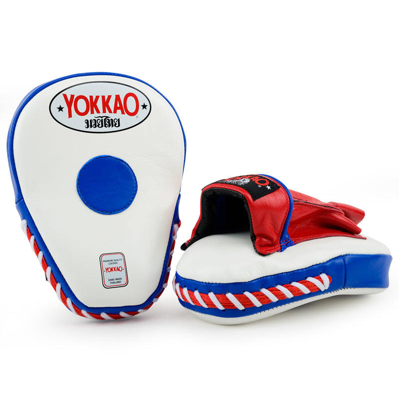 YOKKAO Thai Flag Curved Focus Mitts - YOKKAO