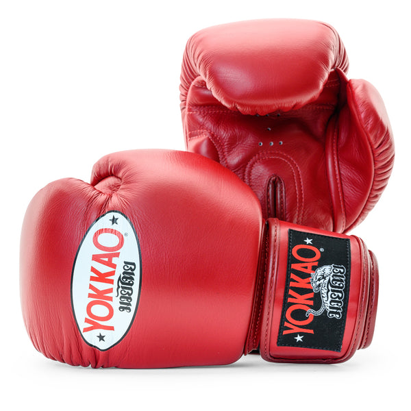 Matrix Biking Red Boxing Gloves - YOKKAO