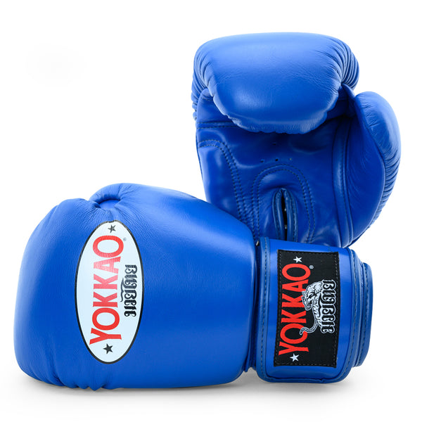 Matrix Blue Boxing Gloves - YOKKAO