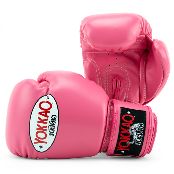 Matrix Hot Pink Boxing Gloves - YOKKAO