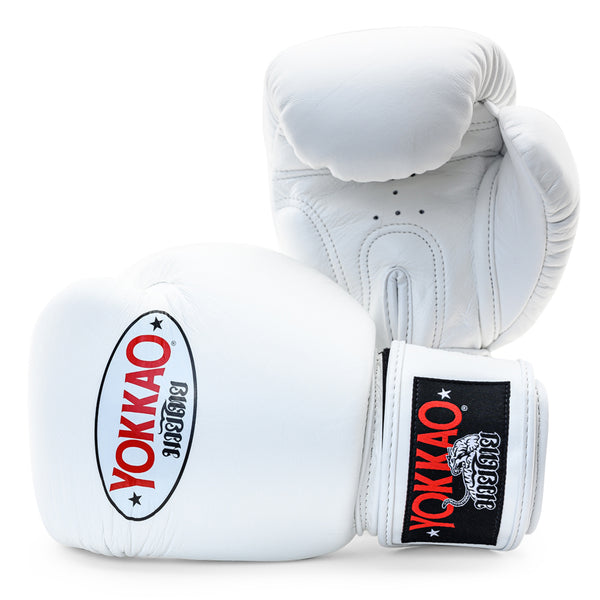 Matrix White Boxing Gloves - YOKKAO