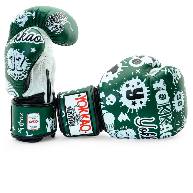 Rock'n'Rolla Eden Muay Thai Gloves - YOKKAO