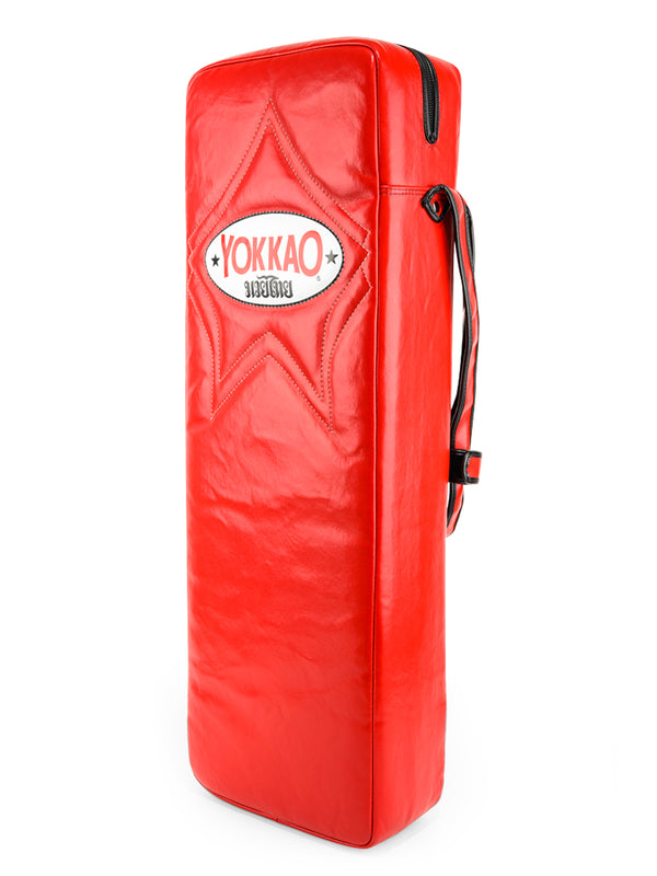 Quad Low Kick Pad Red - YOKKAO