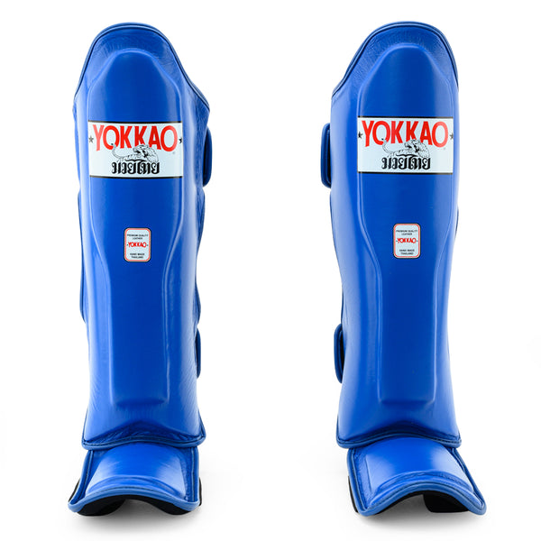Matrix Blue Shin Guards - YOKKAO