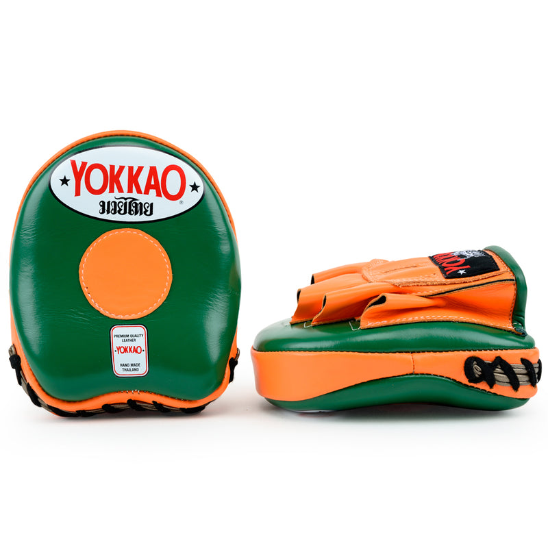 Focus Mitts Small Eden/Orange Tiger - YOKKAO