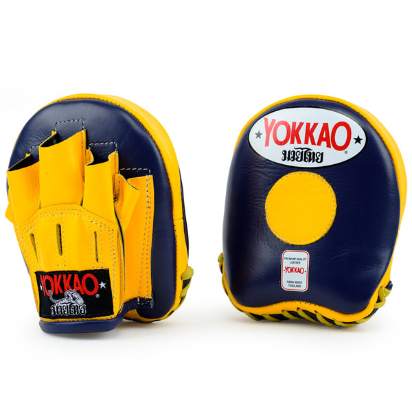Focus Mitts Small Evening Blue/Gold Fusion - YOKKAO