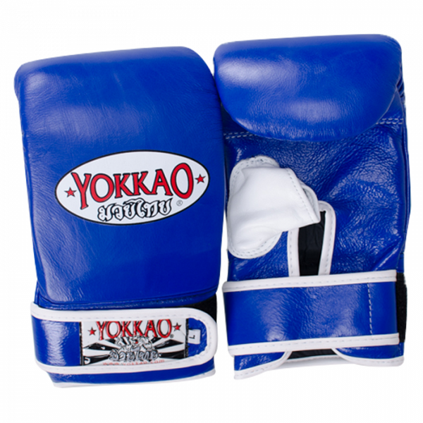 YOKKAO Training Bag Mitts Blue