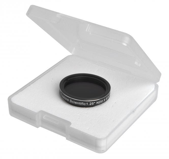 "Explore Scientific Neutral Density Filter 1.25"" ND 0.9 - 310245"