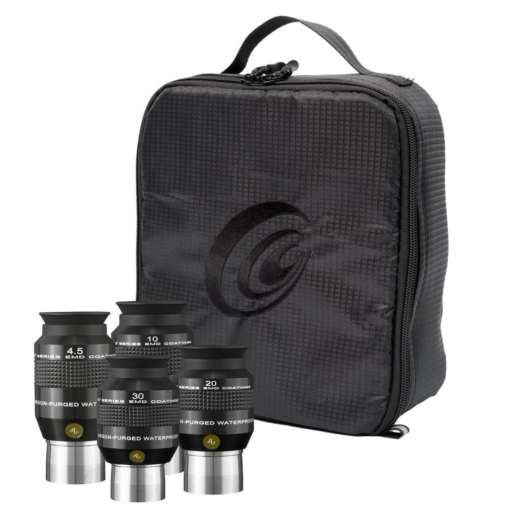 Explore Scientific 4.5mm, 10mm, 20mm and 30mm 52 Degree Waterproof Eyepieces - EPWP52KIT