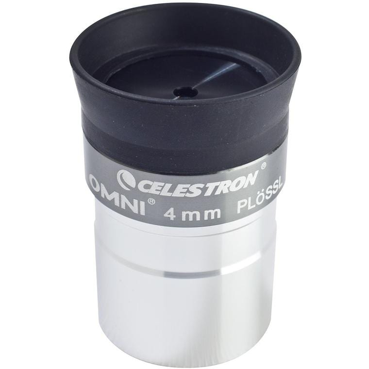 "Celestron Omni Eyepiece - 1.25"" 4mm 50 Degrees - 93316"