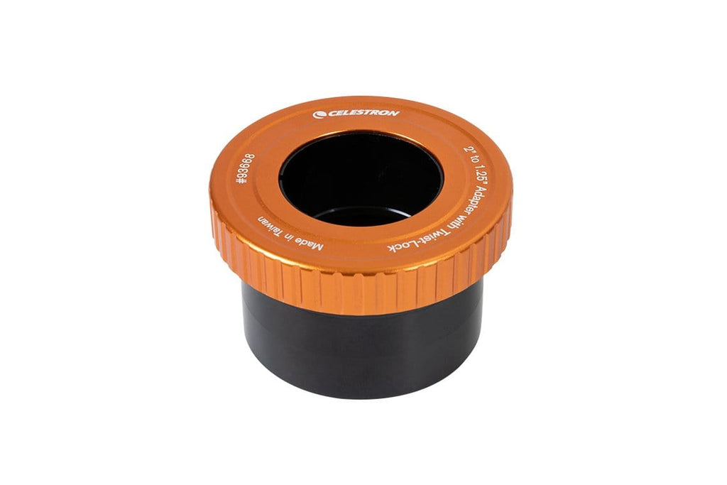"Celestron 2"" to 1.25"" Adapter with Twist-Lock - 93668"