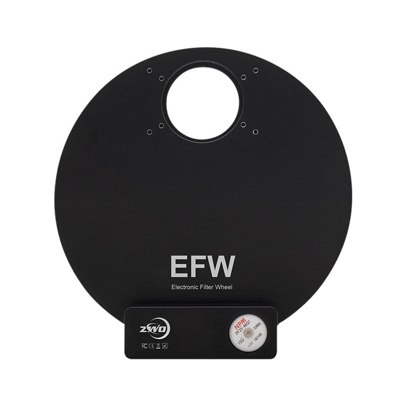 "ZWO 5 Position 2""/50mm Mini Electronic Filter Wheel - ZWO-EFW-5X2"