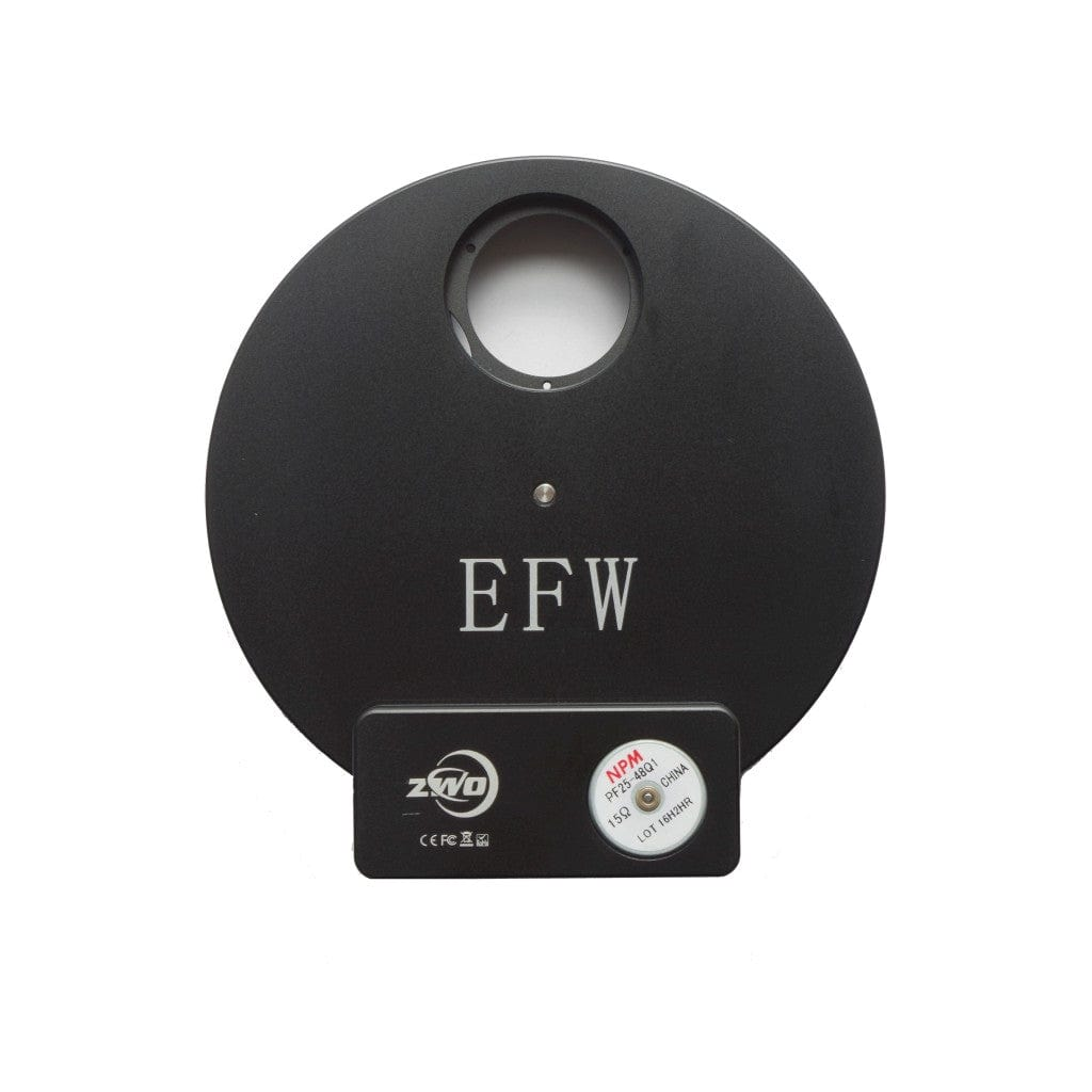 "ZWO 8 position 1.25""/31mm  Electronic Filter Wheel - ZWO-EFW-8x1.25"