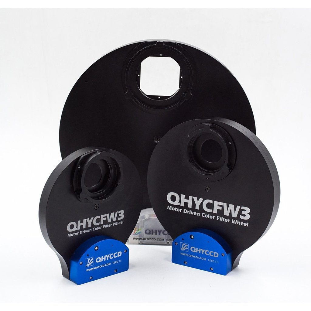 QHYCCD QHYCFW3-S-US 3rd Generation Small Thin Version Filter Wheel - 7 x 1.25""
