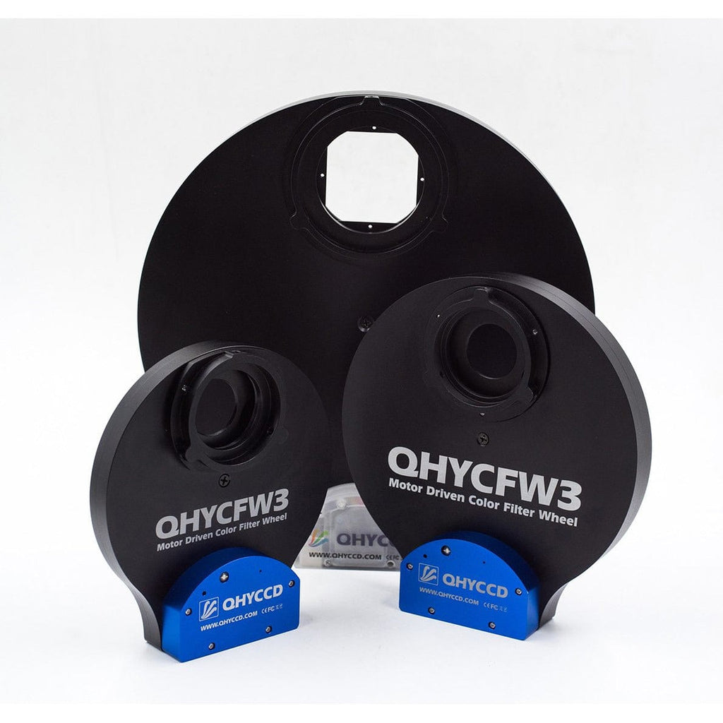 "QHYCFW3-L QHY 3rd Generation Large Filter Wheel - 7 Position x 2""/7 Position x 50mm"