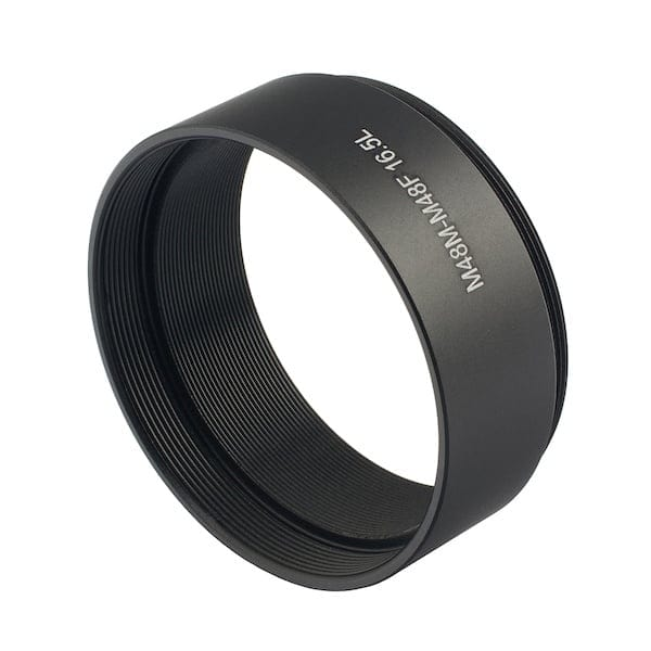 ZWO M48 (male) - M48 (female) 16.5mm Adapter - ZWO-M48-EXT16.5