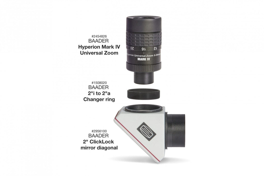 "Baader Hyperion Universal Zoom Mark IV, 8-24mm eyepiece (1¼"" and 2"") - 2454826"