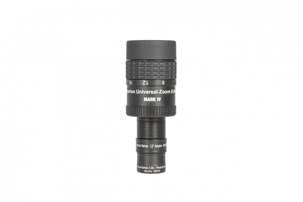Baader Hyperion Bundle - 8-24mm Clickstop Zoom Eyepiece MkIV with Hyperion Zoom Barlow 2.25X - 2454827