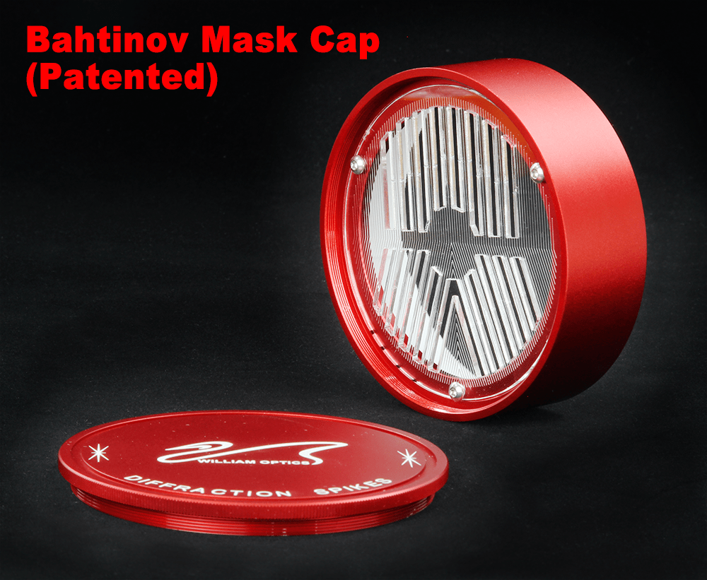 William Optics Innovative Bahtinov Mask Cover for GT71 / Z73 / Star71II - CPBM-71