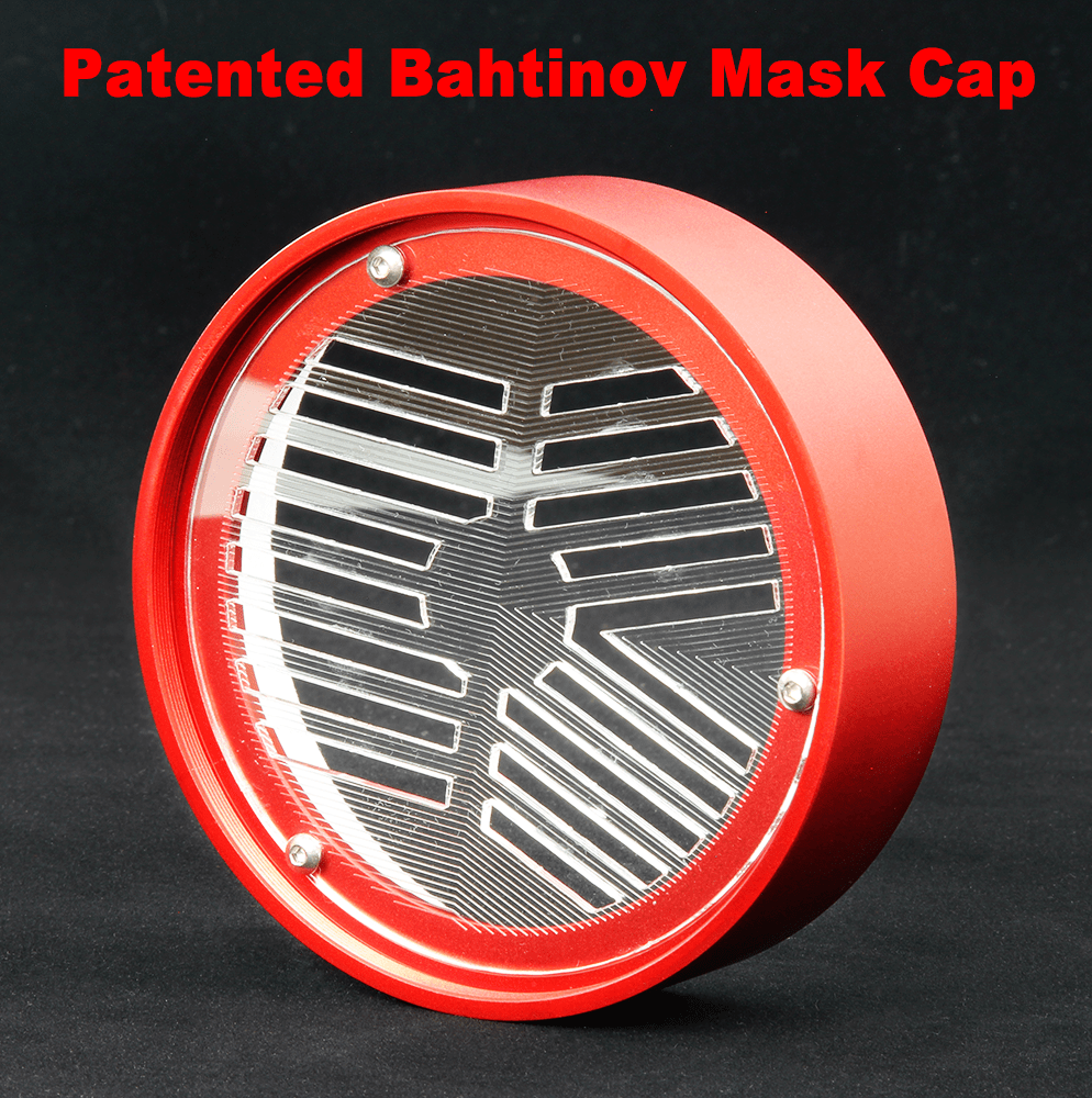 William Optics Innovative Bahtinov Mask Cover for WO 102 & 103 Series Telescopes - CPBM-102