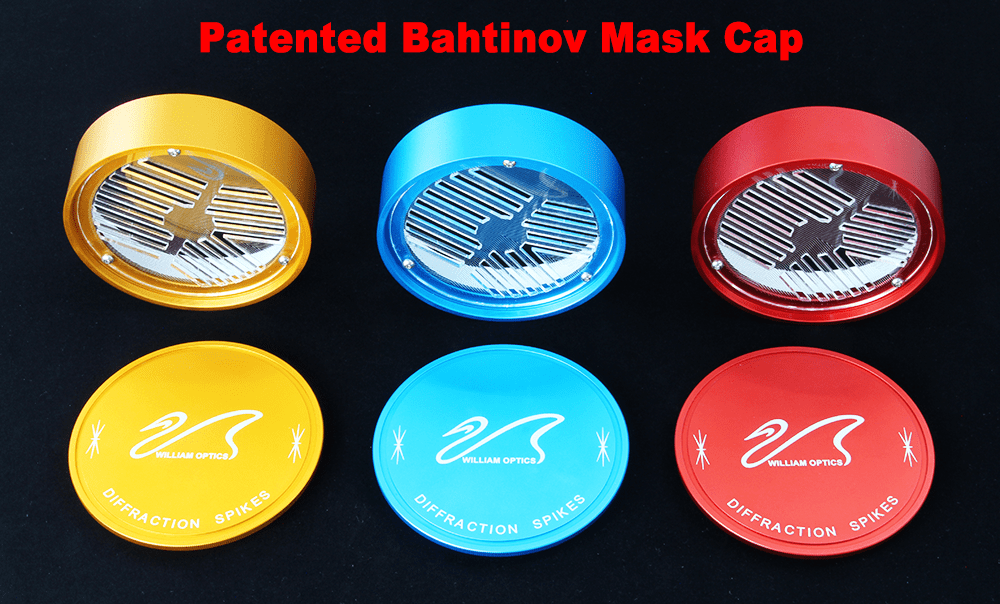 William Optics Innovative Bahtinov Mask Cover for GT81 - CPBM-81