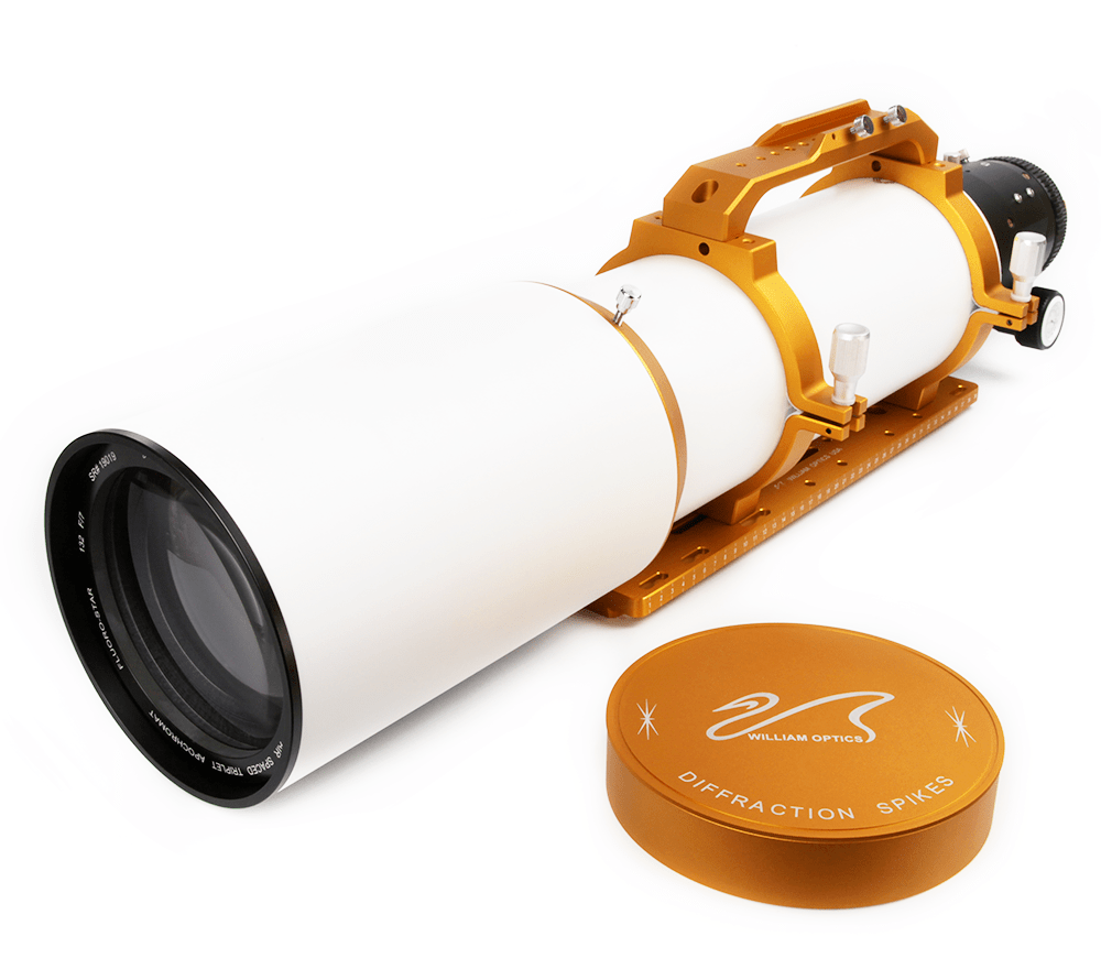 "William Optics FLT 132mm f/7 OTA FPL-53 with 3.5"" Feather Touch Focuser and 3"" RotoLock Adapter - A-F132"