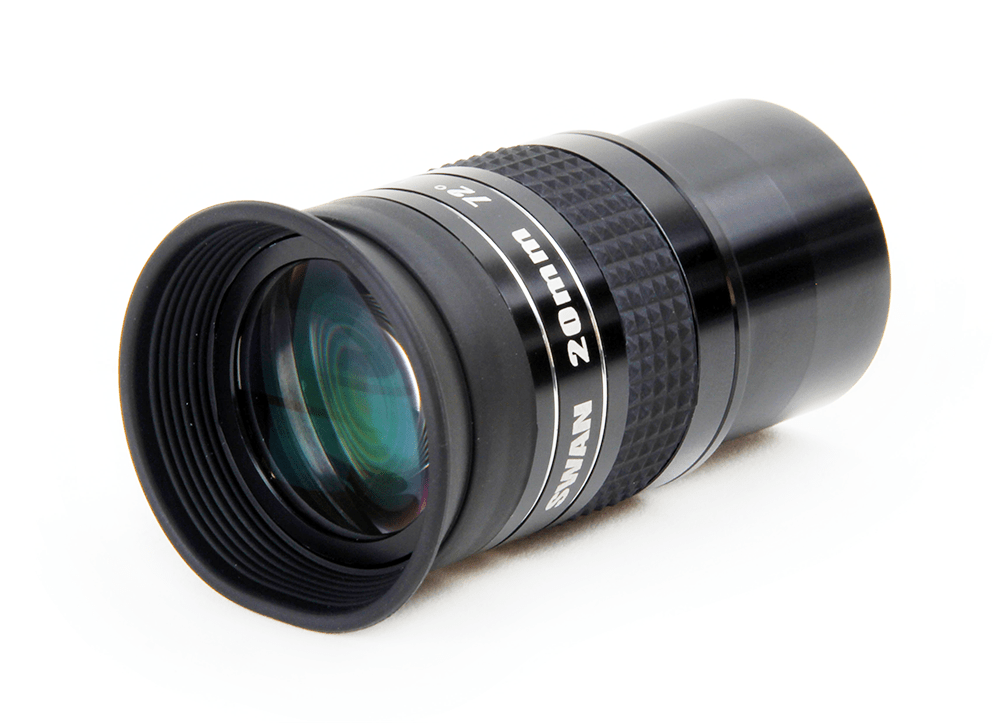 "William Optics Super Wide Angle (72°) 1.25"" High Quality Eyepiece 20mm - E-SWA20"