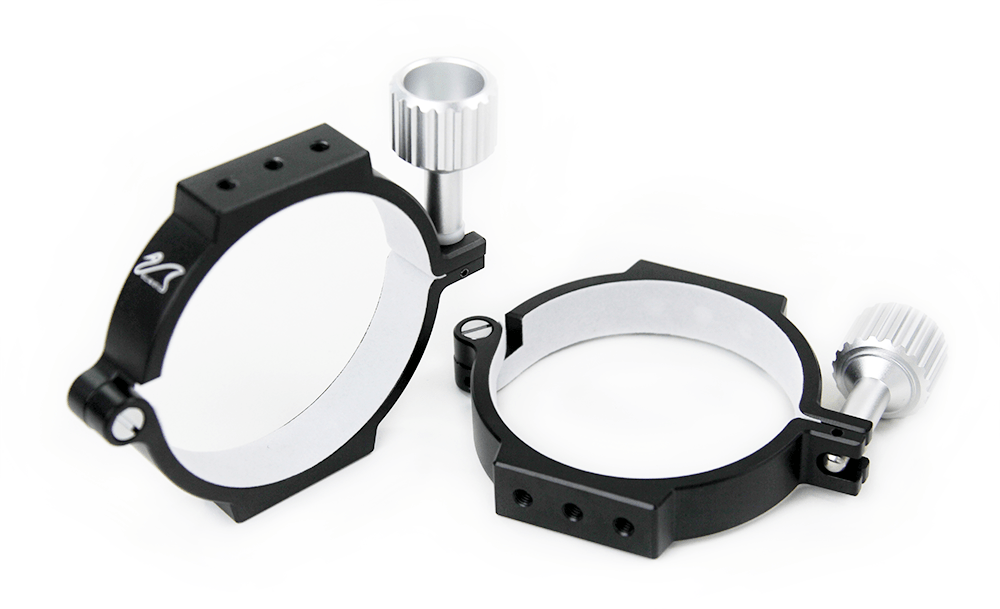 William Optics 90mm Mounting Rings - M-M80R-B