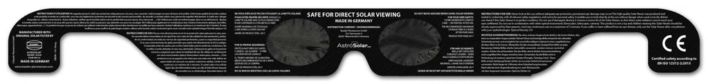 Baader Solar Viewer AstroSolar® Silver/Gold Eclipse Glasses (single piece packaging) - 2459294