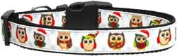 Snowy Owls Nylon Dog Collars