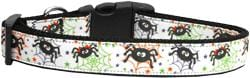 Itsy Bitsy Spiders Nylon Dog Collar