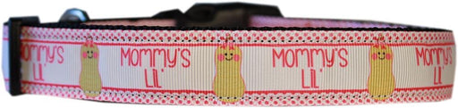 Mommy's Lil Peanut Nylon Dog Collar
