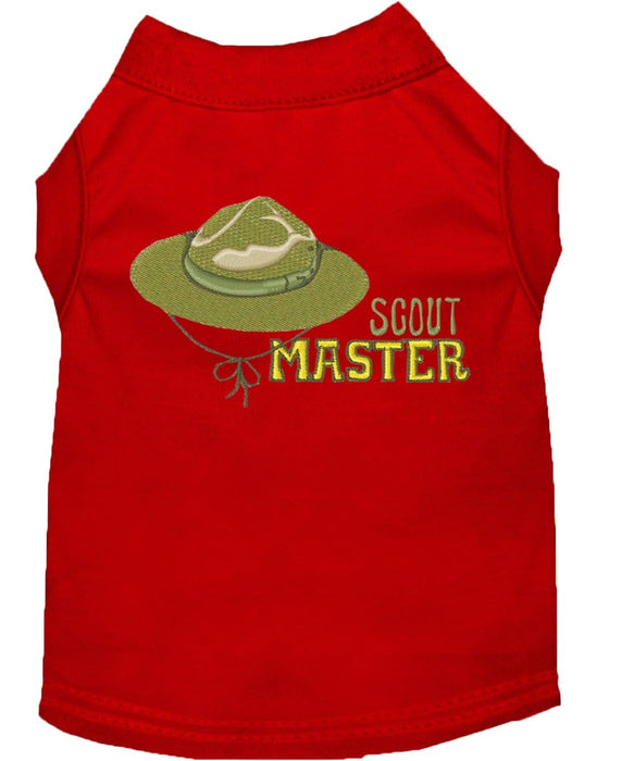 Scout Master Embroidered Shirt