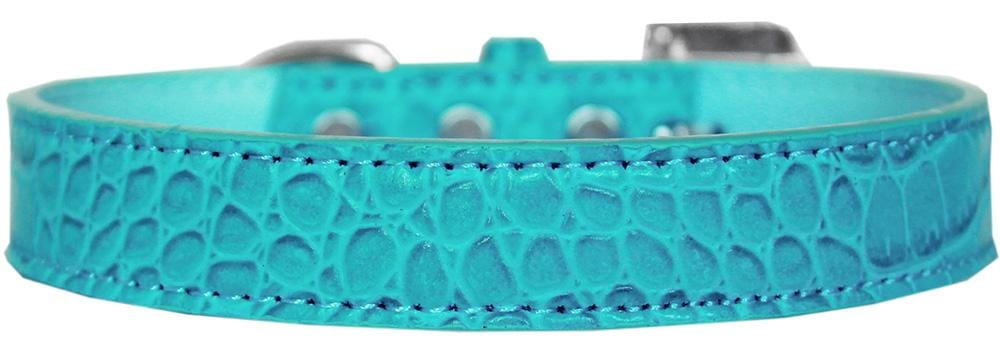 "Tulsa Plain 3/4"" Faux Croc Collars"