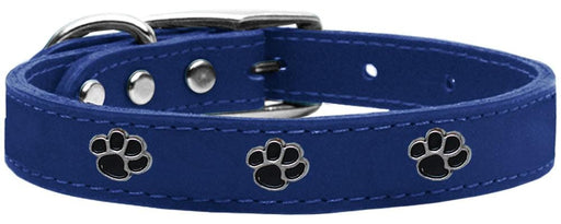 Paw Widget Leather Collars