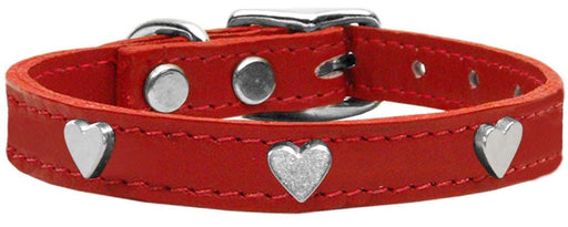 Crystal Heart Genuine Leather Collars