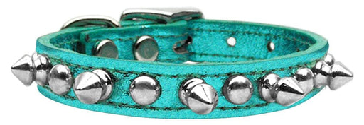 Genuine Leather Metallic Chaser Collars