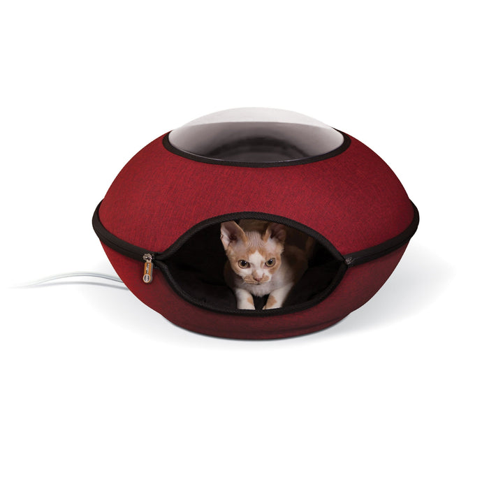 Thermo-Lookout Cat Pod Red
