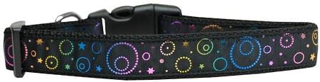 Galactic Shimmer Nylon Cat Collar