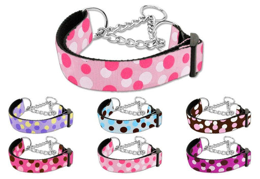 Confetti Dots Nylon Martingale Collars