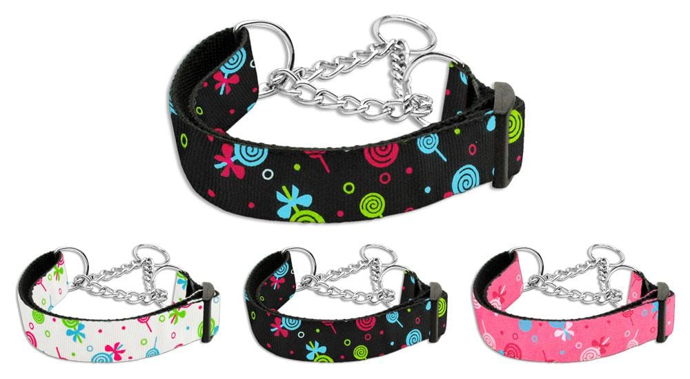 Lollipop Nylon Martingale Collars