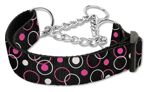 Retro Nylon Ribbon Martingale Collars