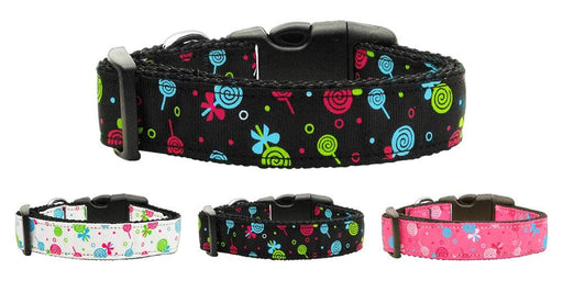 Lollipops Nylon Dog Collars