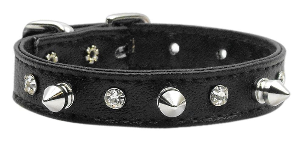 Keepin' it Simple Crystal and Spike Dog Collars