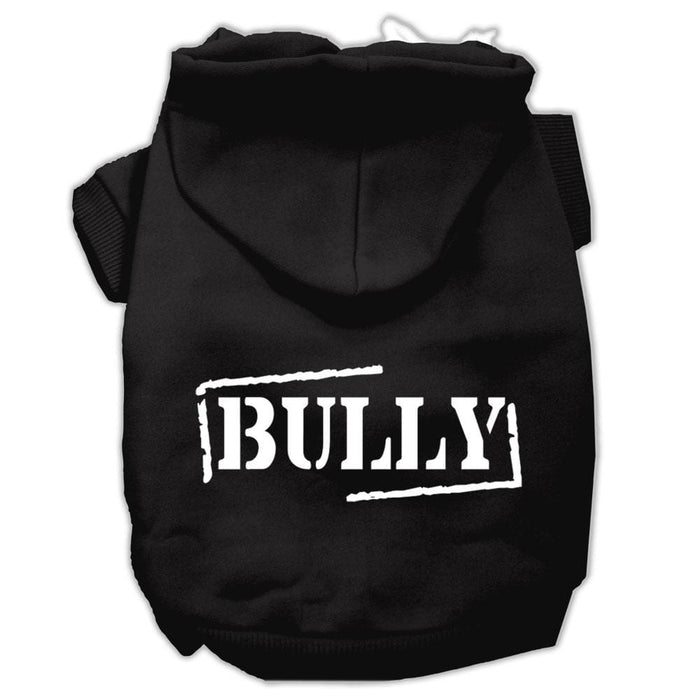 Bully Screen Print Dog Hoodie